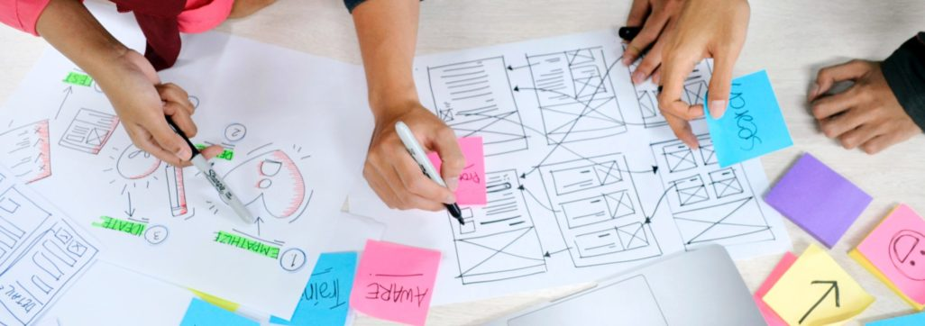 Design Thinking on paper